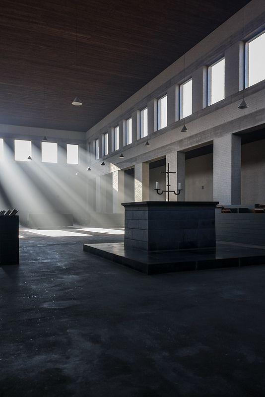 Ecstasies of Logic: Reflections on van der Laan's Abbey at Vaals