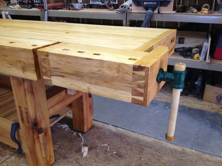work benches tables woodworking banks i work forward stews bench. Black Bedroom Furniture Sets. Home Design Ideas
