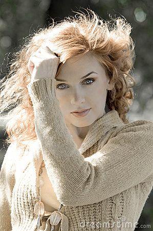 portret rood haar herfst - Google zoeken