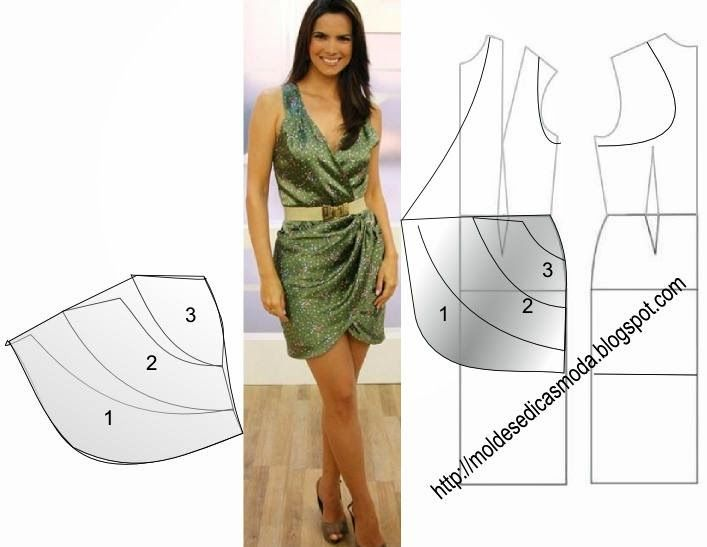 Moldes Moda por Medida: TRANSFORMAÇÃO DE VESTIDOS _109                                                                                                                                                      Mais
