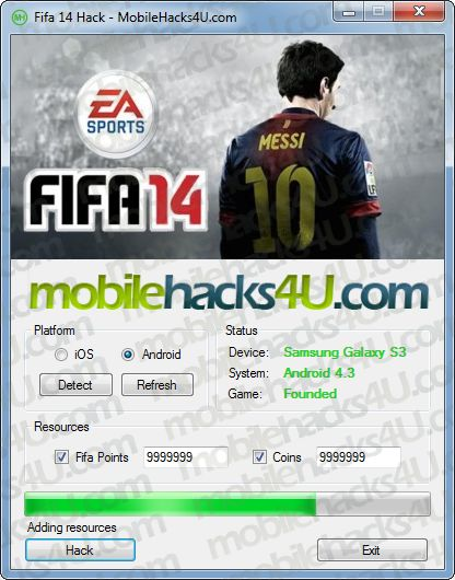 Fifa 14 Hack Get Unlimited Coins, Fifa Points