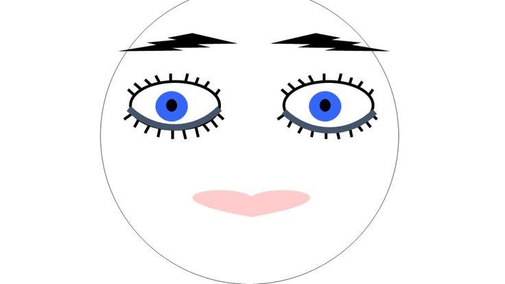 eyeliner onder het oog