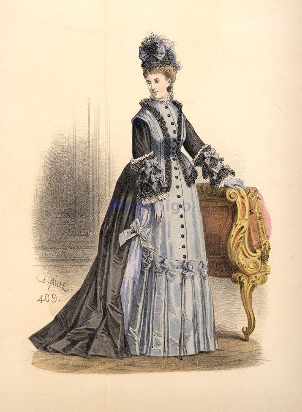 1870 - Day dress