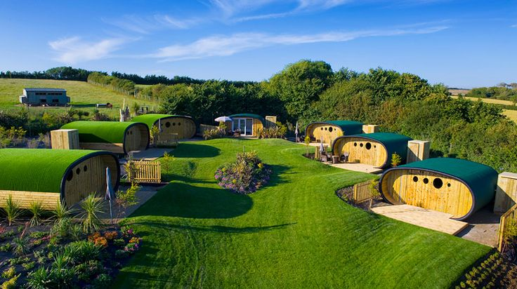 Unique Glamping in the UK at Atlantic Surf Pods - Glamping.com
