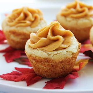 Delicious as it Looks: Inspired by Fall: Pumpkin Cookie Cups