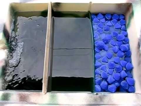 Goponic Aquaponics Filter, Vortex Filter, Swirl Filter, Solid Sediment Filter, 4 stage filtration - YouTube