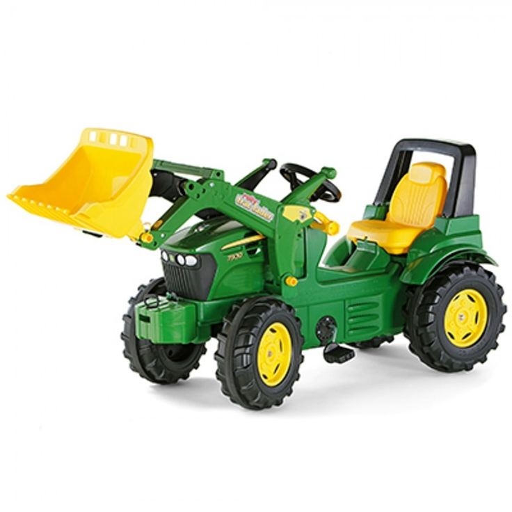 John Deere Rolly Farmtrac Premium with Loader - Ride On - Toys & Collectibles | RunGreen.com