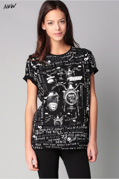 T-shirt noir imprimé message Velvet Pepe Jeans prix T-Shirt Femme Monshowroom 40.00 €