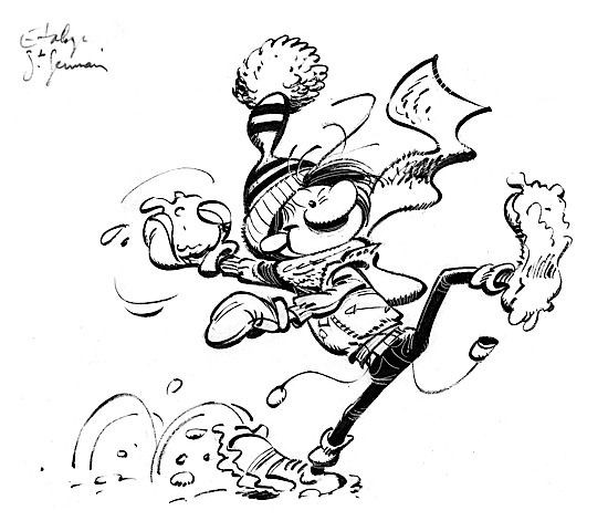 THE ART OF ANDRÉ FRANQUIN