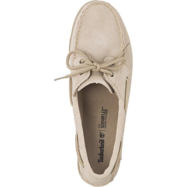 Polbuty Damskie Timberland Timberland Brazowe Camden Falls Suede Boat Shoes Simply Taupe Shoes Boat Shoes Keds