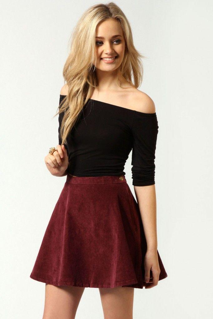 Skater Skirt Outfit 10                                                                                                                                                      More