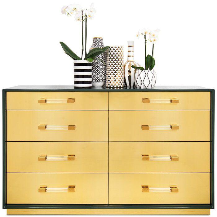 Mauritius 8 Drawer Double Dresser Modshop Double Dresser Dresser