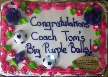 Our Ten Favorite Cake Wrecks - http://www.gearfuse.com/our-ten-favorite-cake-wrecks/