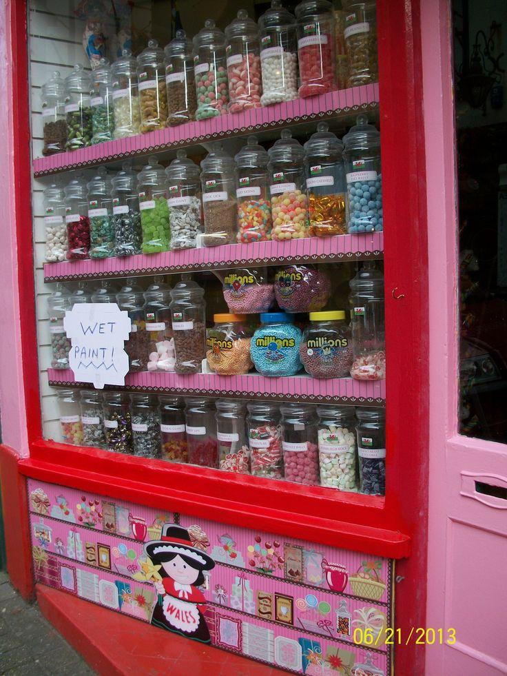 ~ sweet shop ~ Tenby, Wales ~