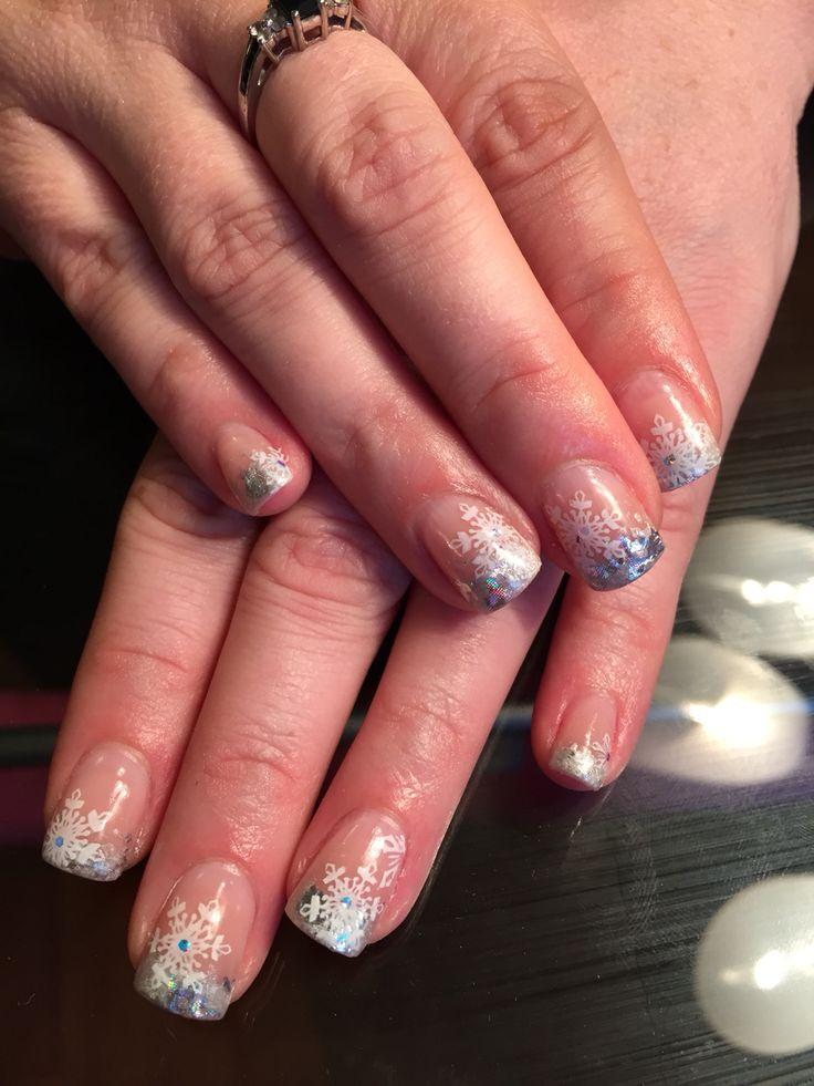 EnVogue silver tip, winter snowflake stamps