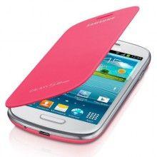 Estuche Samsung Galaxy S3 Mini Original Flip Cover - Pink