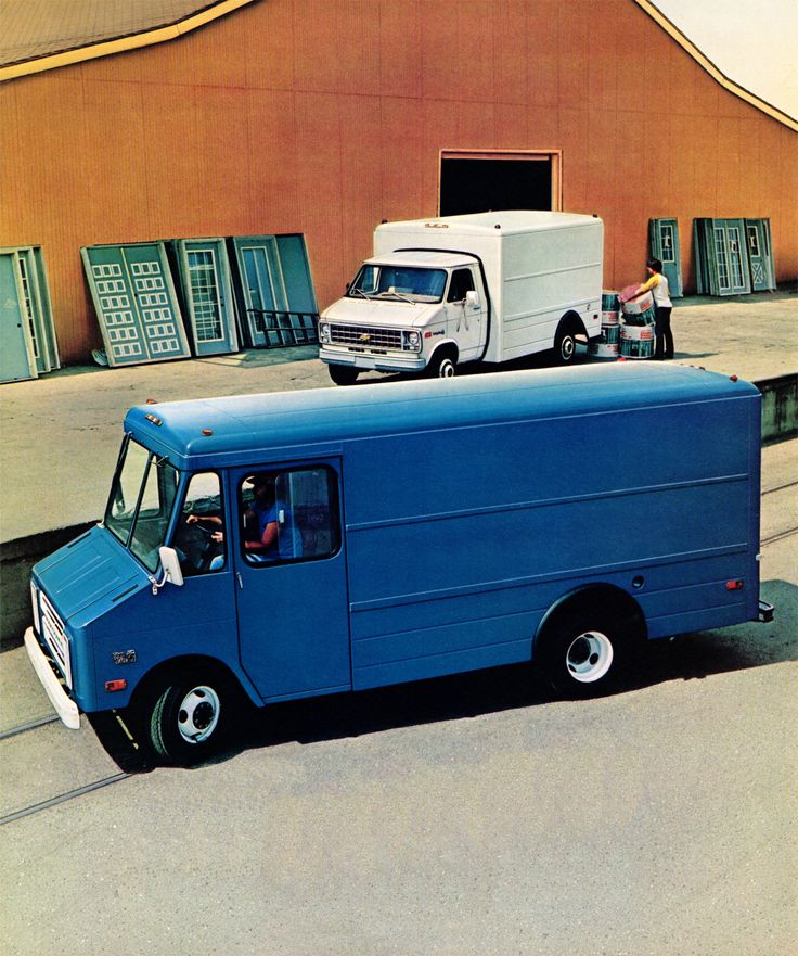 Chevrolet P30 StepVan 1980 (With images) Step van