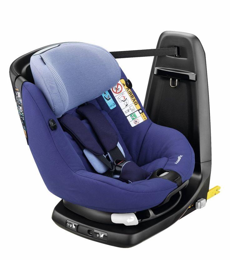 Découvrez toutes les caractéristiques de l'AxissFix, le siège-auto pivotant de Bébé Confort.