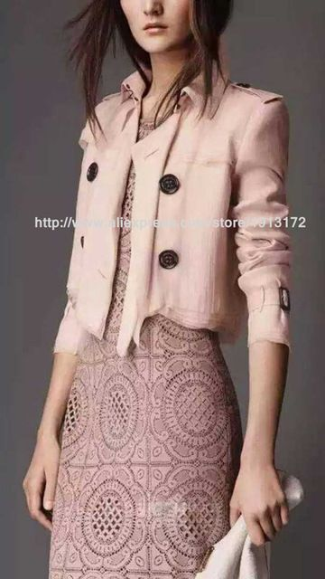 2016 Spring Runway Blouses High Quality Famous Brand Spring Summer Style Short Blouses for Women US $235.00 /piece To Buy Or See Another Product Click On This Link  http://goo.gl/IdJFhm