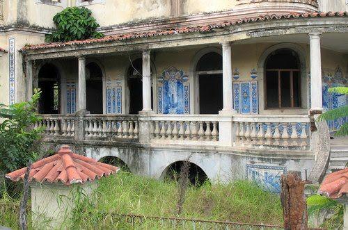 Vila Algarve - Na Época Colonial foi a Sede da PIDE (Polícia Política Portuguesa) - (Construido em 1934)