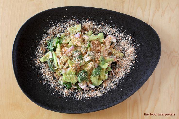 Thai Cucumber and Prawn Salad