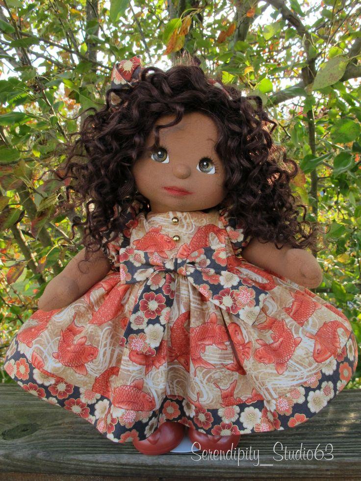 OOAK AA My Child Doll