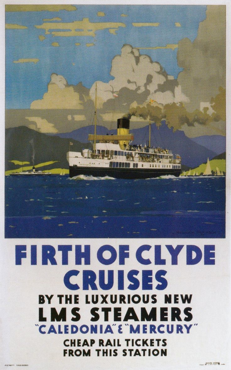 78 Best Vintage Tourism Posters Of Scotland Images On