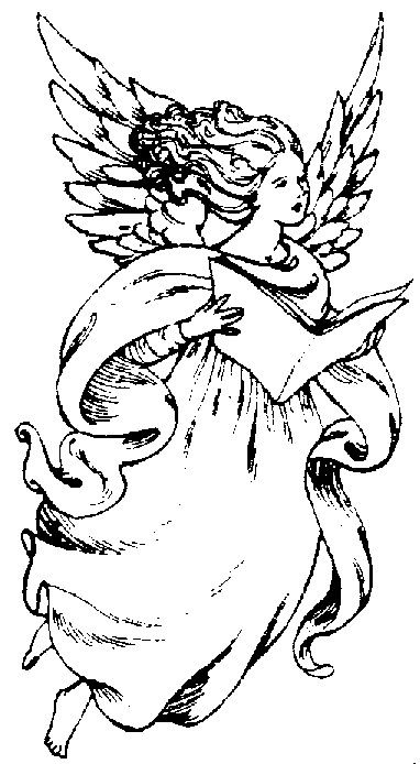 a christian christmas christian christmas coloring pages for children - Coloring Pages Beautiful Angels