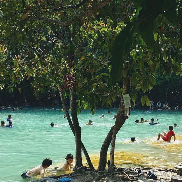 【ariamarket_】さんのInstagramをピンしています。 《タイのグラビにある天然プール「エメラルドプール」 #エメラルドプール #ブループール #travel#trip#thailand#krabi#pool#emeraldpool#タイ#タイランド#グラビ#森の中##森#自然#プール#nature#green#アジア#asia#旅行#》