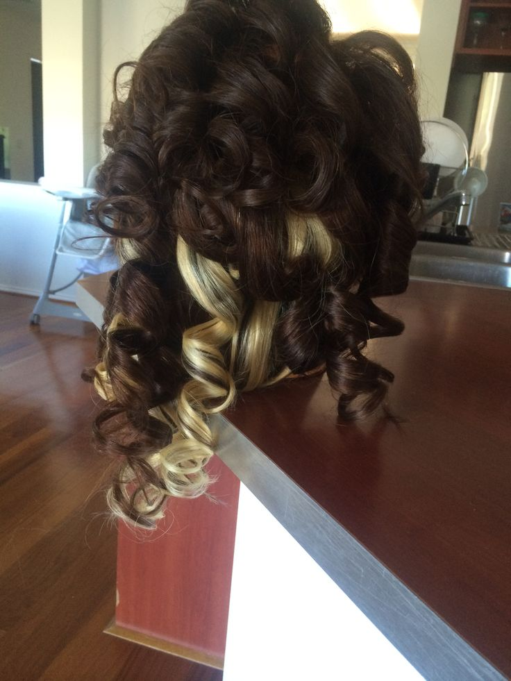 Curls with extensions. Sesion7