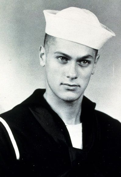 Tony Curtis joined the Navy at age 16 right after the attack on Pearl Harbor and served until 1945.