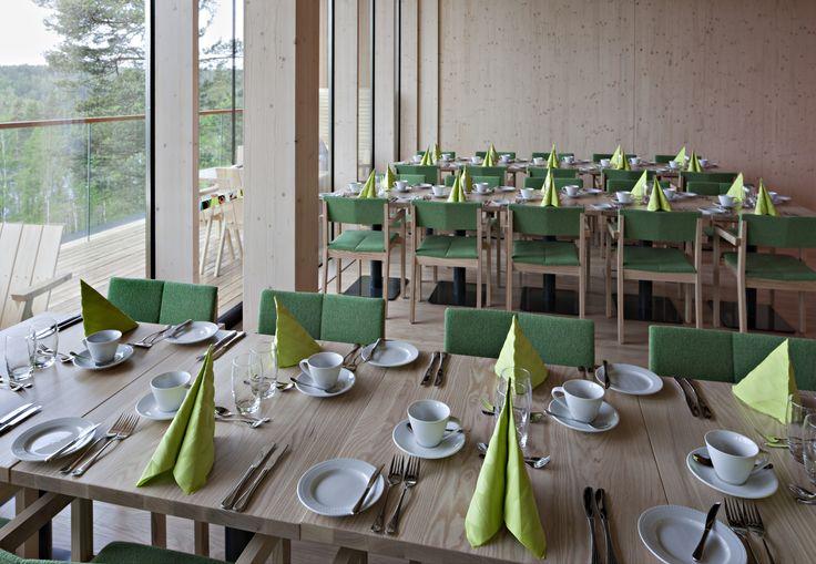 Restaurant Haltia's cabinet, Päivölä. Photo: Voitto Niemelä