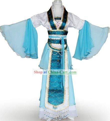 Chinese tea costume