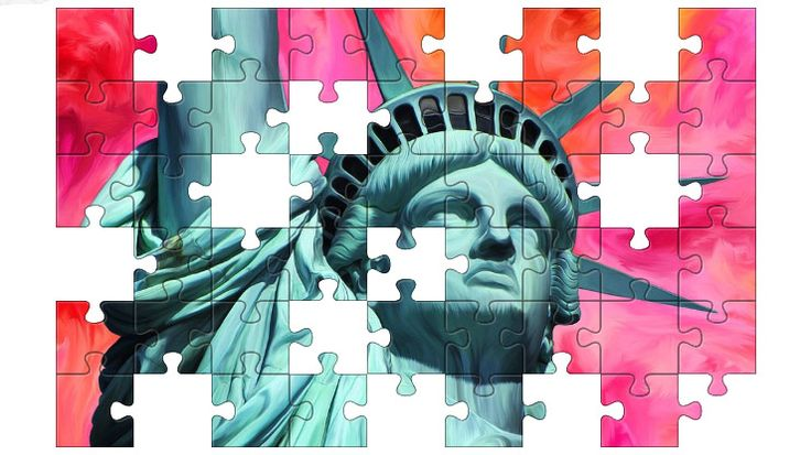 Free Jigsaw Puzzle Online - STATUE OF LIBERTY  #Game #JigsawPuzzle #Puzzle #freegame