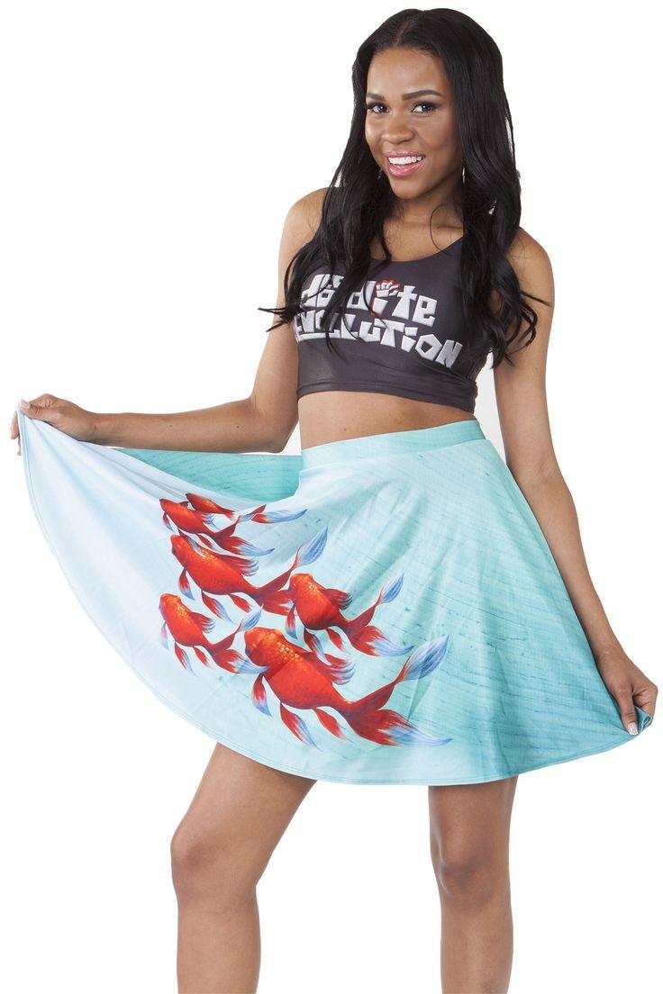 Goldfish Skater Skirt - $50.00 AUD
