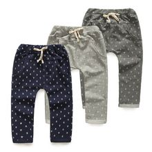 2014 autumn anchor boys clothing baby child long trousers casual pants kz-3735(China (Mainland))