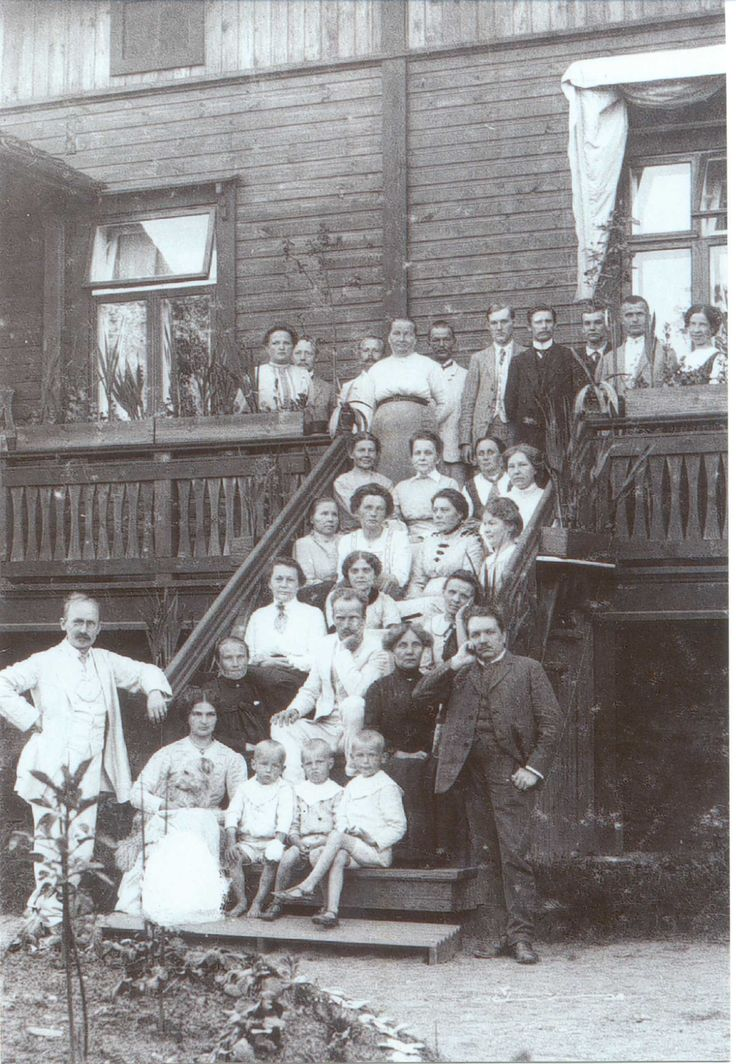 Theosophical Summer Course at Mikkeli (Finland) 1915.