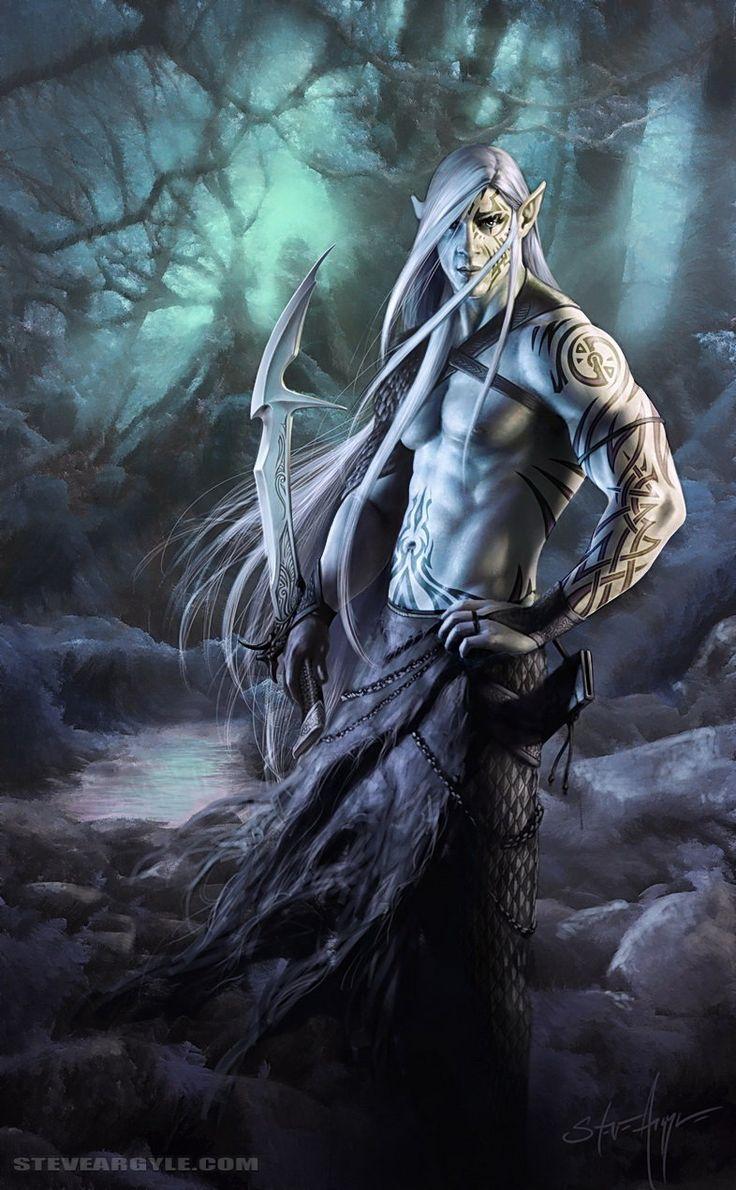 284 Best Elf Half-elf Fantasy Portrait Images On Pinterest