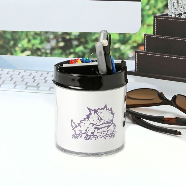 TCU Horned Frogs Small Desk Caddy - $13.99