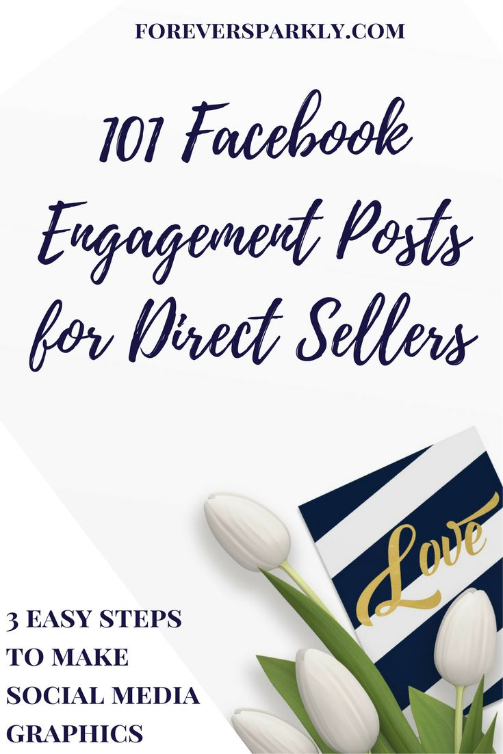 Wonder what to post in your direct sales Facebook groups? Click to read the ultimate list of Facebook group engagement post ideas! 101 ideas! #facebookparty #facebookgroup #socialmedia #engagementpost