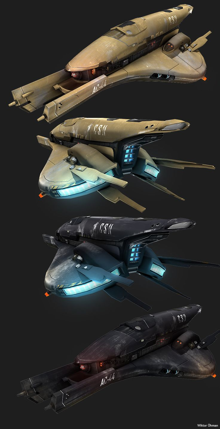 Future Human Spaceship by beere