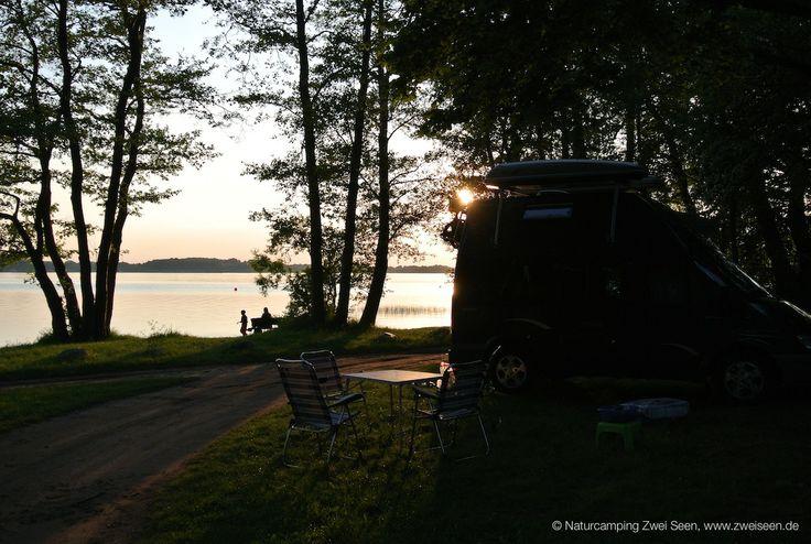 Campen direkt am Plauer See