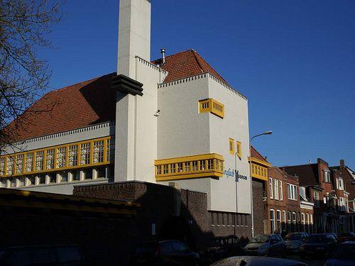 Amsterdamse school style Graphic museum Groningen