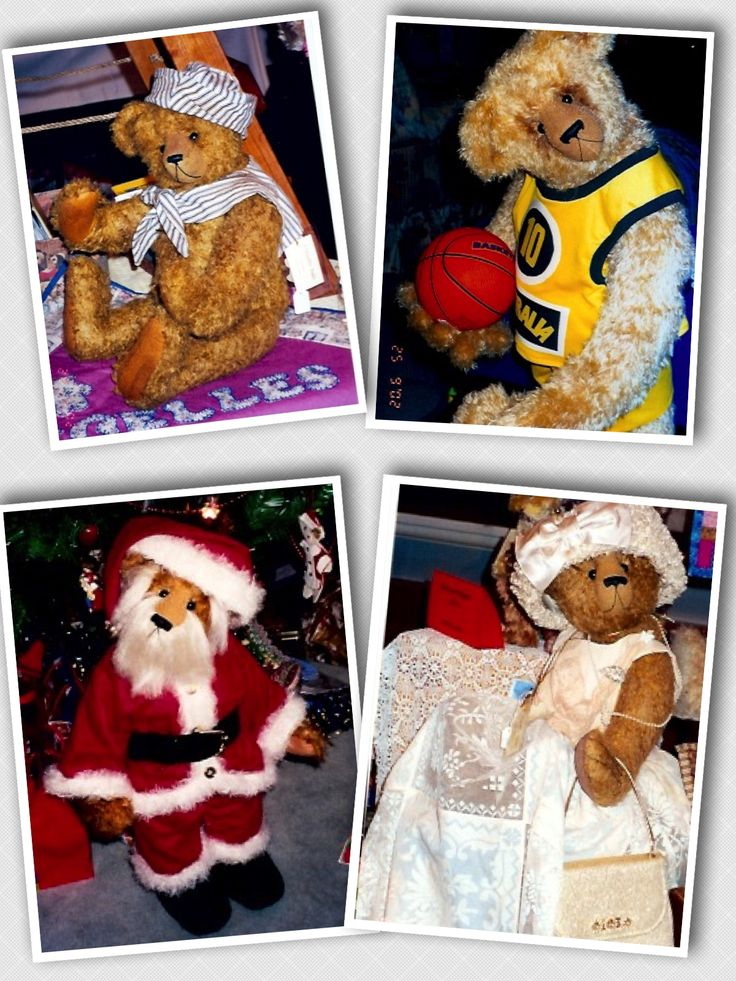 All pre 1999 #megelles Megelles is celebrating 30 years  of Bear Making in 2015