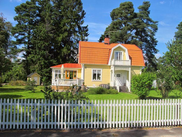 20-talshuset: Huset utvändigt