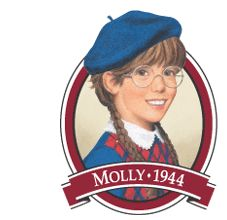 The Unlikely Homeschool: American Girl History Units: Molly  Also links to:   Kaya  Felicity  Josefina  Grace & Cecile  Kirsten  Addy  Samantha  Rebecca  Kit  Julie
