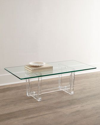 acrylic coffee table aldon acrylic coffee table at horchow coffee amp accent 29976