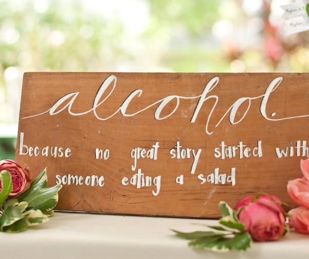 To put near the bar!   Wedding Receptions: 17 Ways to Spruce Up Your Site - Wedding Reception Planning - Wedding Reception Ideas