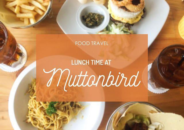 Satisfying lunch at Muttonbird! #FoodTravel #Foodie #Food #FoodBlogger #KulinerSurabaya #Pasta