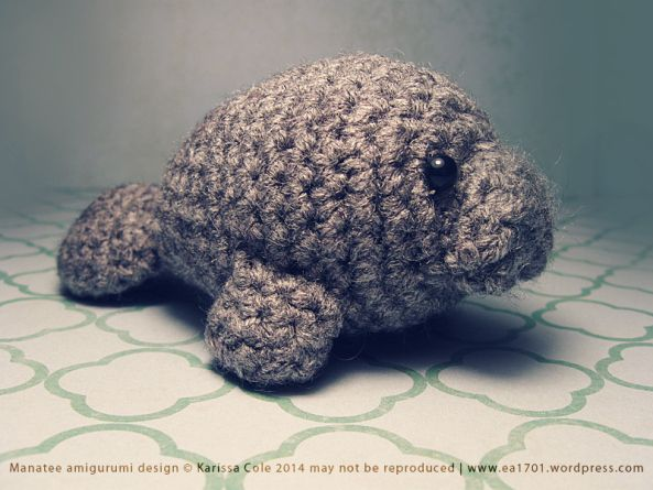Free Amigurumi Manatee Pattern : 1000+ images about Sea Life (mostly crochet) on Pinterest ...
